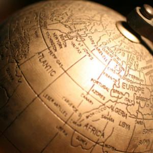 bronze-globe